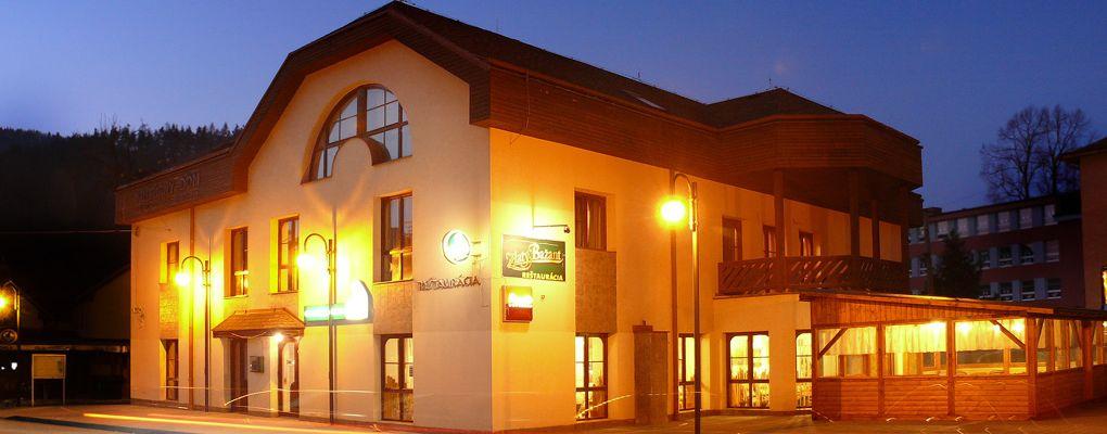 Reštaurácia Kultúrny dom sa nachádza priamo v centre Terchovej